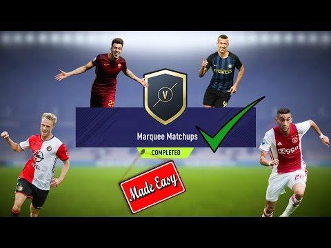 FIFA 18 Marquee Matchups Made Easy!  Jan. 16     Plus Bonus TOTY SBC Solution!