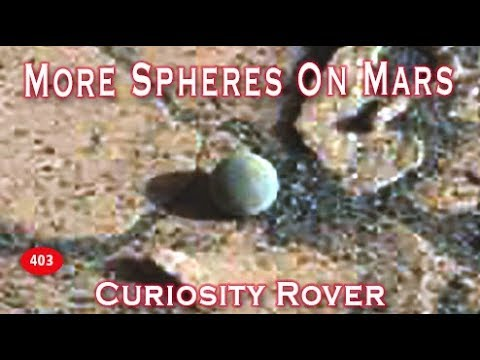 Moqui Marbles / Spheres Found On Mars?