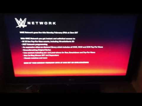 WWE Network Channel on Roku Player
