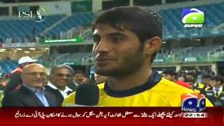 Exclusive Talk of Peshawar Zalmi's Muhammad Asghar in Shahzeb Khanzada's Show