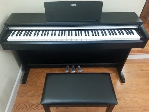 Yamaha Arius YDP-142 Digital Piano Unboxing and Review