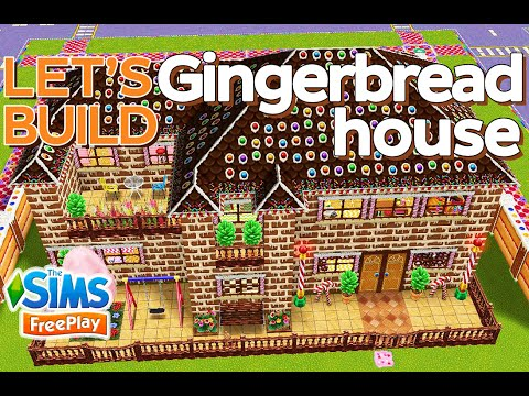 The Sims FreePlay - Let's Build: Gingerbread House