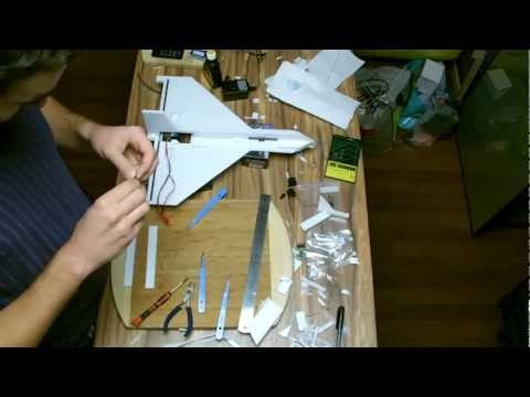 Scratch build 35mm EDF delta wing jet (Successful flight, build log)