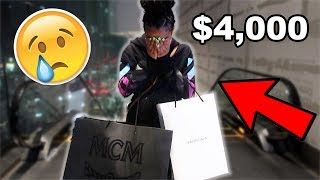 EXPENSIVE BACK TO SCHOOL SHOPPING FOR MY LITTLE SISTER!! **SHE CRIED**