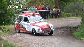 Crazy Citroen Dyane 6 Rally | Drifts & Maximum Attack | Alberto Miera 2007 - 2009