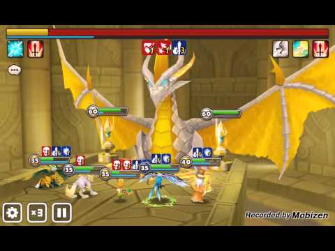 Summoners War auto dragon's lair B7