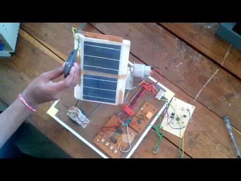 DUAL AXIS SOLAR TRACKING VIDEO