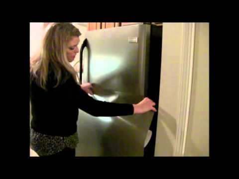 How To Install Amazing Faux Stainless Film.  GREAT 4 APARTMENTS!