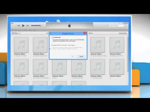 How to backup and restore the iTunes® library on a Windows® 8 PC