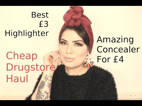 Get Ready With Me with Drugstore Haul - XH11JAB