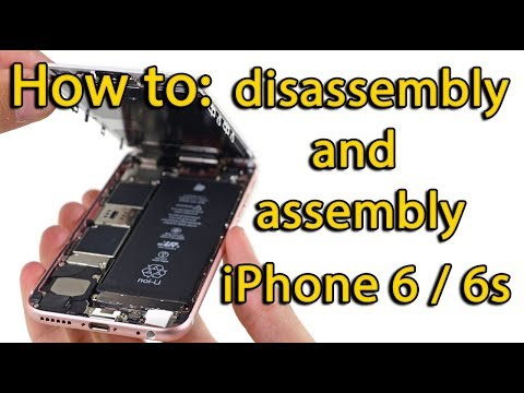 iPhone 6s disassembly and assembly process