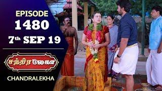 CHANDRALEKHA Serial   Episode 1480   7th Sep 2019   Shwetha   Dhanush   Nagasri   Arun   Shyam