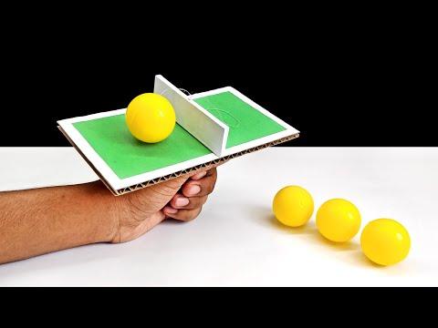 DIY Mini One Hand Table Tennis