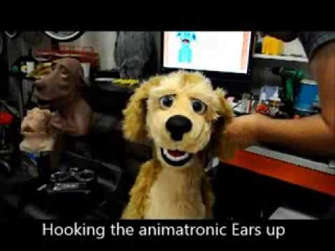 Creature creator contest video, Kevin Gorby / Luna's puppets. Animatronic puppet