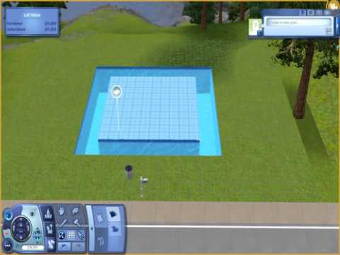 The Sims 3- How to build a underwater house- Tutorial