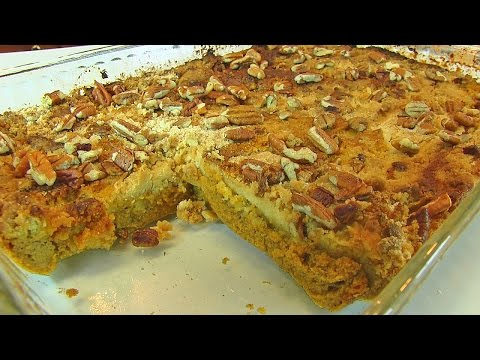 Betty's Pumpkin Pie Cake  --  Thanksgiving