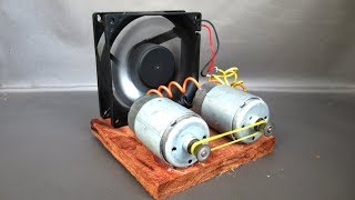 Free energy generator electricity with light bulbs - Homemade