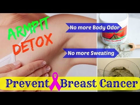 How you can Detoxify your Armpit & Prevent Breast🎗Cancer HOW TO REDUCE YOUR BREAST CANCER RISK