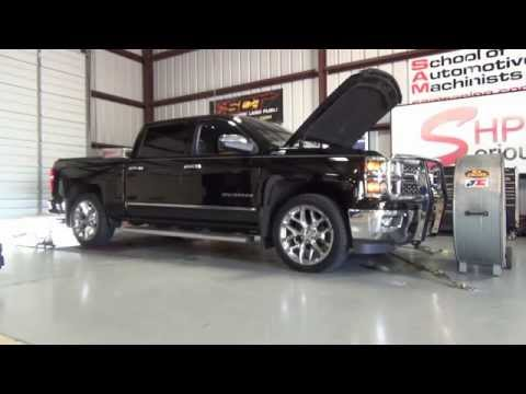 2014 Silverado gains +138 RWHP with just adding a Whipple