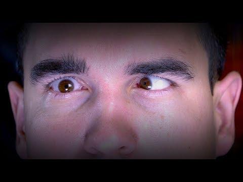 How to cross one eye