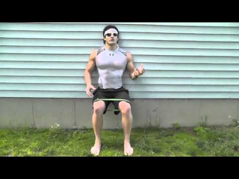 Lean and Ripped Legs Exercises (Outdoor Band Workout)