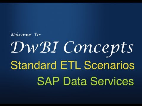 ETL in SAP Data Services 10 - Rapidly Changing Dimension