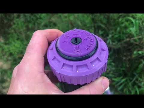 Replacing a Septic Sprinkler