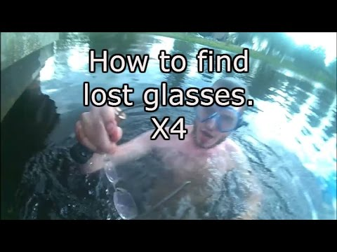 How to find lost glasses. X4