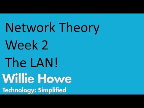 Network Theory Week 2 - Local Area Networks - LANS