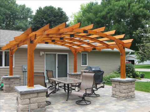 Pergola Design Attached to House