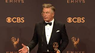 Alec Baldwin will play Trump again next season - Full Backstage Emmy