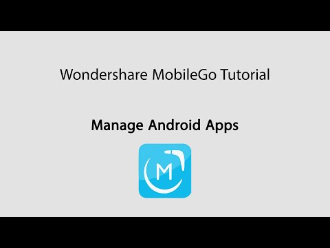 MobileGo: Manage Android Apps