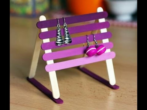 How to make a jewellery stand at home