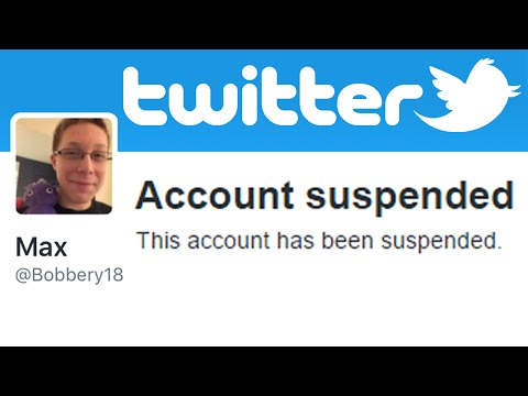 My Twitter Account Got Suspended