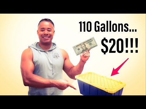 110 Gallons of fish tanks from Home Depot for $20?!!!