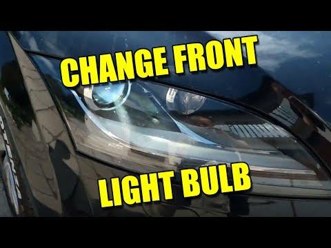 How to Remove Headlight and Change Light Bulb on Audi TT Mk2 EASY