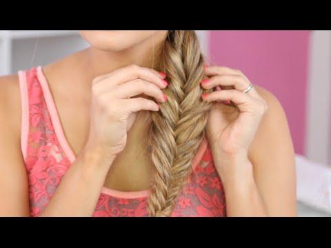 How to: Messy Fishtail Braid I Christen Dominique