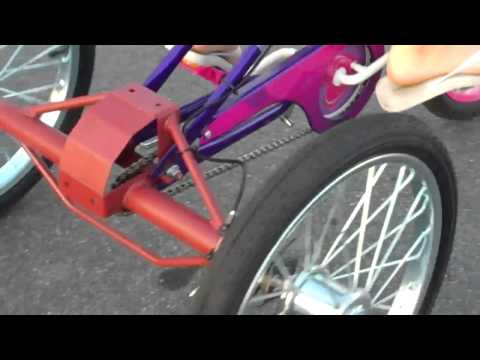 I BUILD 3 WHEEL BIKE AXLES WITH DISK BRAKES