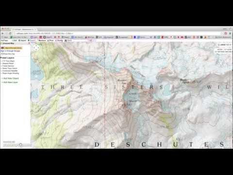 Caltopo tutorial - Free topo maps