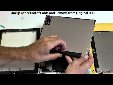 Official iPad 2 LCD Replacement Video & Instructions - iCracked.com