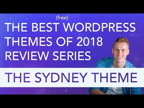 Best Wordpress Free Themes Review Series | The Sydney Theme