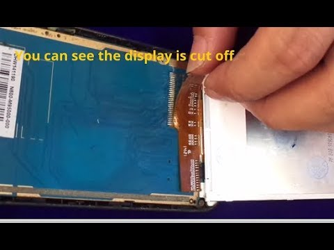 Micromax Bolt  A-082 How To Repair   Damaged Display - (Any Other  mobile display)