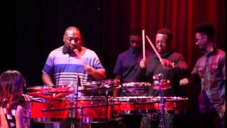 GoGo Mickey and his sons on percussion - Howard Theatre 2014