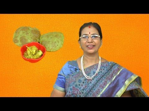 Palak Poori (Puri) | Mallika Badrinath Recipes