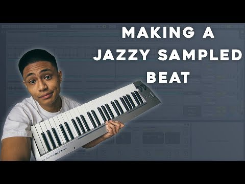 HOW to make a JAZZY sampled Hip-Hop beat