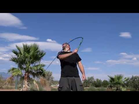 Beginner Whipcracking Tutorial: How to do Solitary Targeting tricks with your whip!
