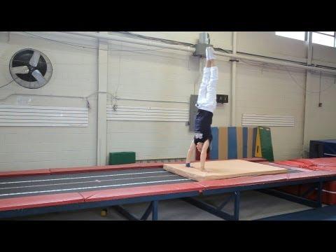 How to Do a Front Handspring | Gymnastics Lessons