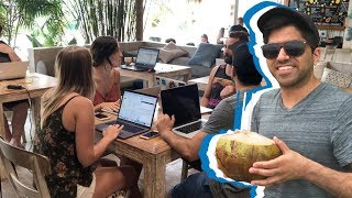 I tried living as a digital nomad for the day | CNBC Reports