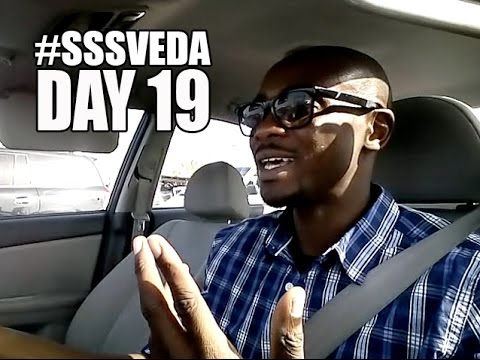 #SSSVEDA Day 19 - Are you a morning or night person?