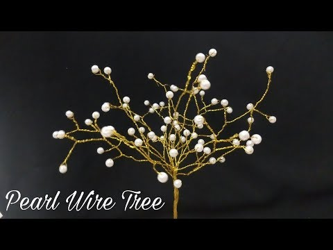 Pearl Wire Tree (DIY)